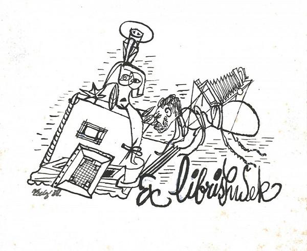 František Tichý – Ex libris Sudek