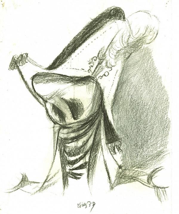 František Tichý – Kresba k povídce Gogola