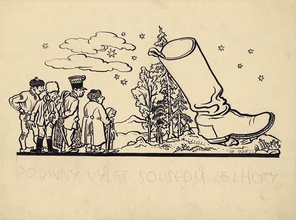 Rudolf Adámek – Podivný výlet sousedů ze Lhoty