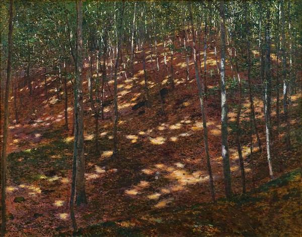 Antonín Slavíček - Slunce v lese