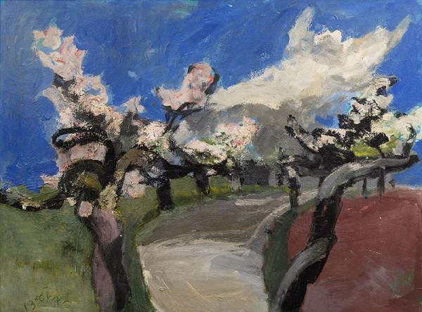 Josef Brož - Staré stromy v květu