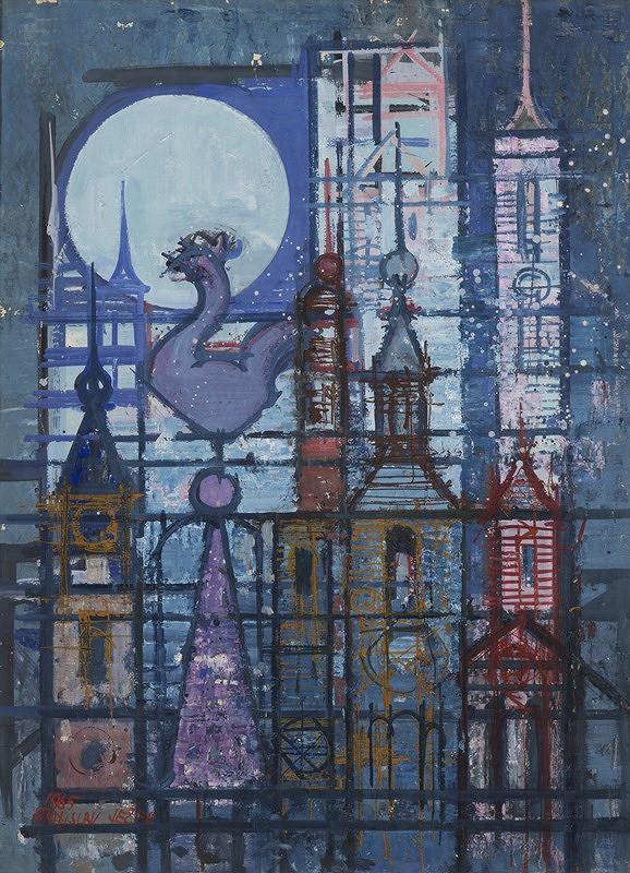 Stanislav Ježek – Věže s měsícem