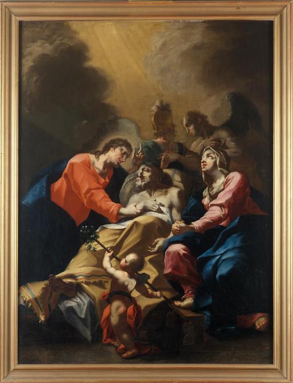 Michelangelo (Michael Angelo) Unterberger – Smrt  sv.  Josefa