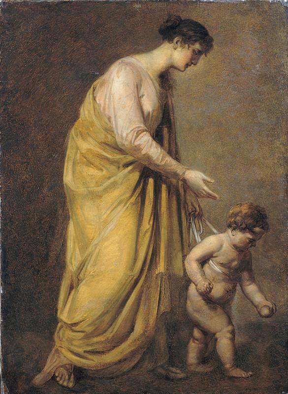 Friedrich Heinrich Füger - Mladá matka (Kroky do života)