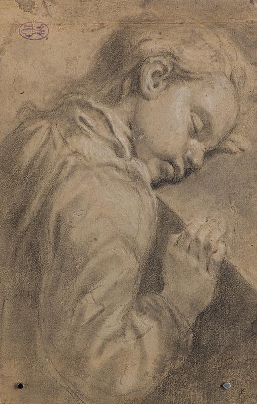 Giovanni Battista Piazzetta - podle - Spící chlapec