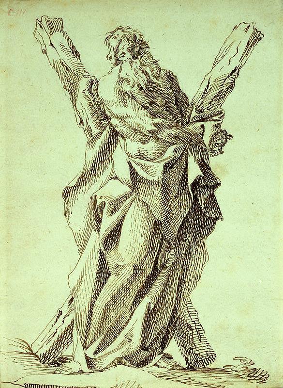 Josef Winterhalder I. (Winterhalter) - Sv. Ondřej