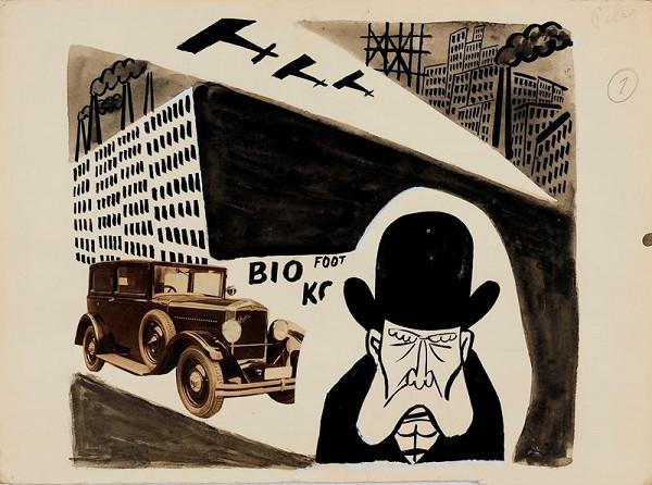 Antonín Pelc – Satirická kresba