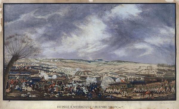 František (Franz) Richter - Slavkovské bojiště (Bitva u Slavkova)