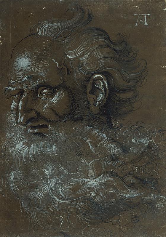 Hans Baldung Grien – Hlava apoštola