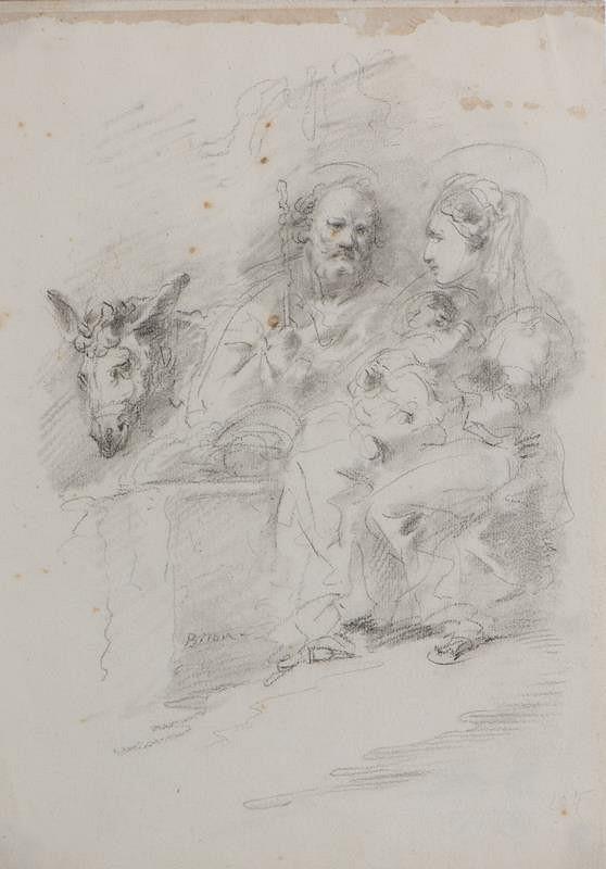 Giuseppe Bernardino Bison – Svatá rodina na útěku