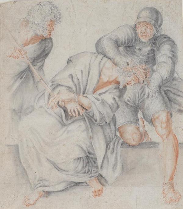 Annibale Carracci - podle - Korunování trním