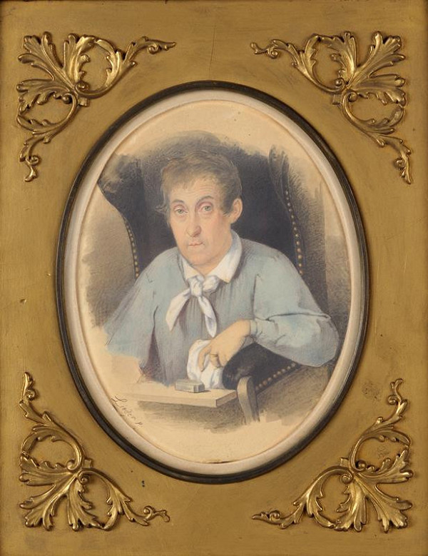 Friedrich Johann Gottlieb Lieder - Podobizna herce Karla Treumanna v roli Argana