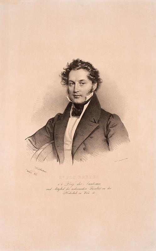 Josef Kriehuber - Dr.  Josef  Berres