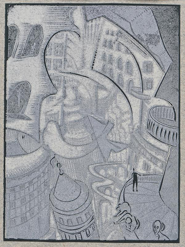 Josef Váchal - Sen o zemi: 9. Architektura budoucnosti
