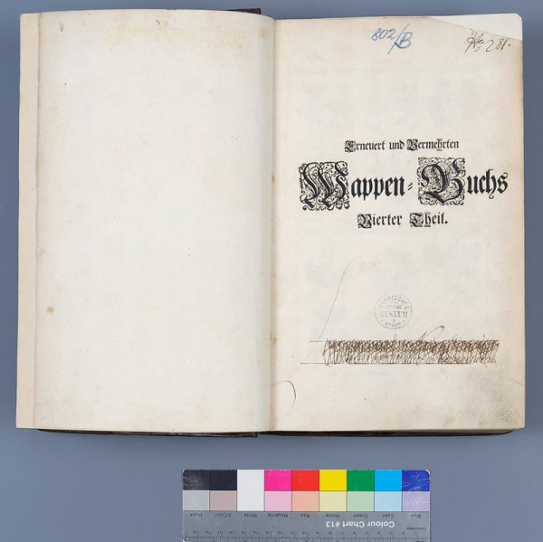 Christian Sigmund Froberg, Paul Fürst, Johann Siebmacher – Erneuert und Vermehrten Wappen- Buch. [4.,5.,6. díl]