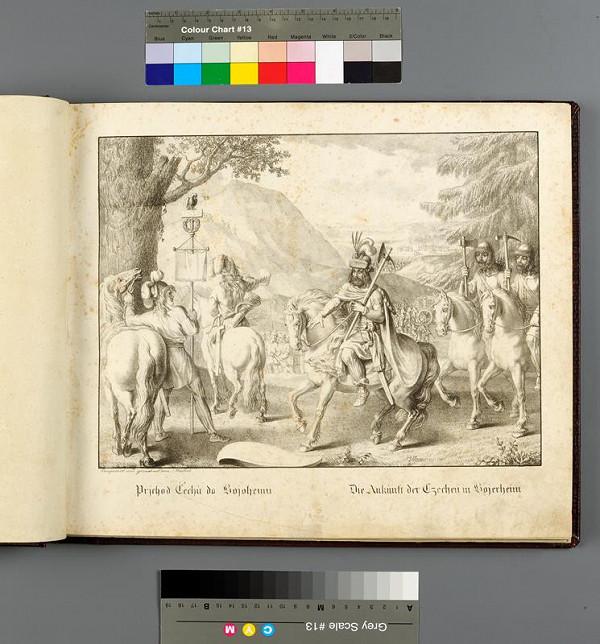 Antonín Machek - Dějiny české v obrazích kamenopisně vyvedených