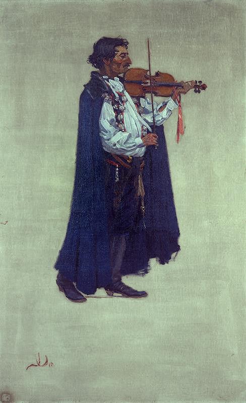 Joža Uprka – Jožka cikán(Primáš Jožka Kubík)