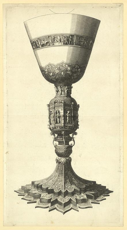 Václav Hollar – Kalich, podle Andrey Mantegni