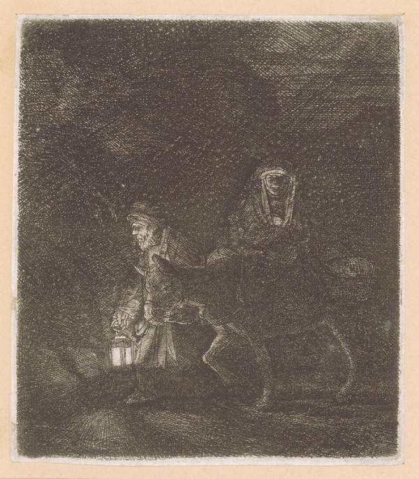 Rembrandt Harmensz van Rijn – Útěk do Egypta