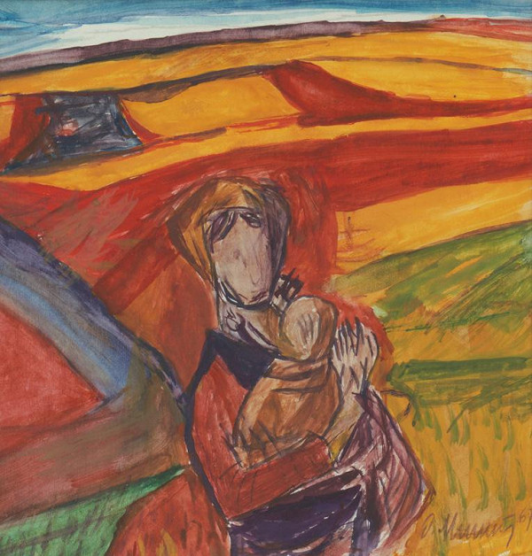 Dezider Milly – Matka s dieťaťom