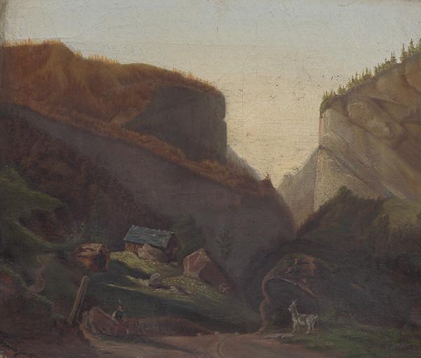 Stredoeurópsky maliar z 2. polovice 19. storočia - Horská krajina