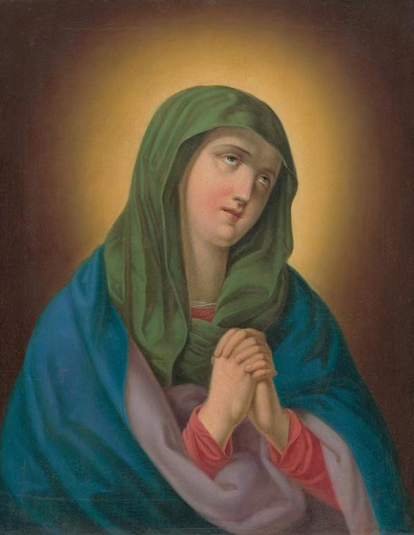 Stredoeurópsky maliar z 2. polovice 19. storočia - Mater Dolorosa