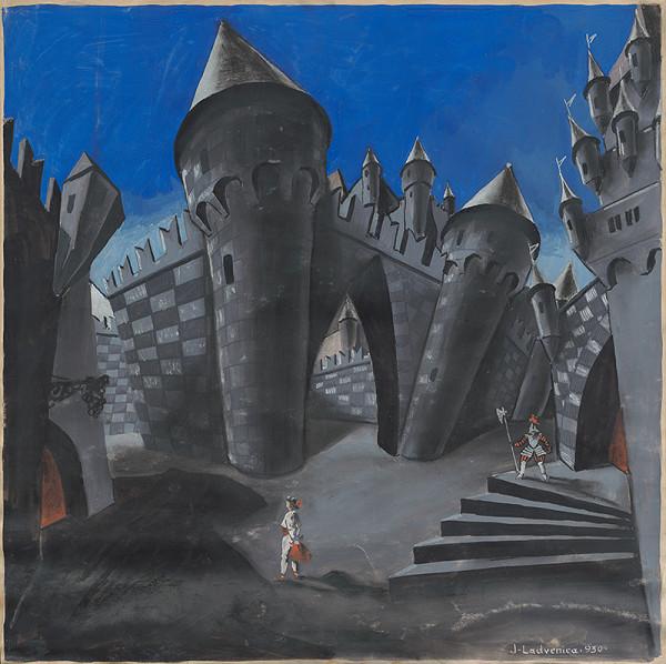 Ján Ladvenica - Ilustrácia-Hlúpy Honza