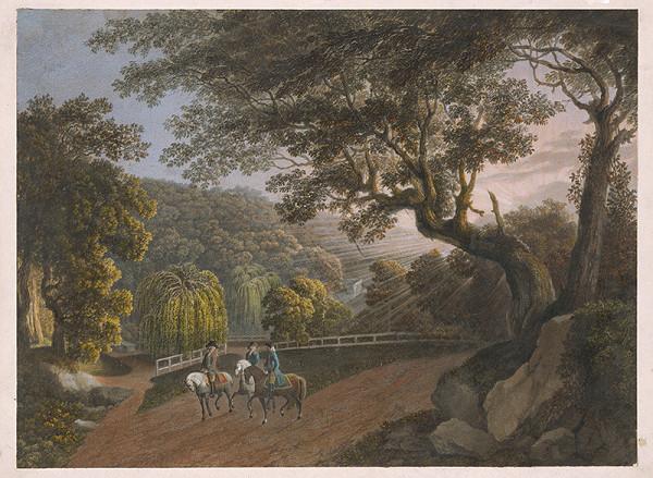 Stredoeurópsky maliar z 1. štvrtiny 19. storočia – V parku