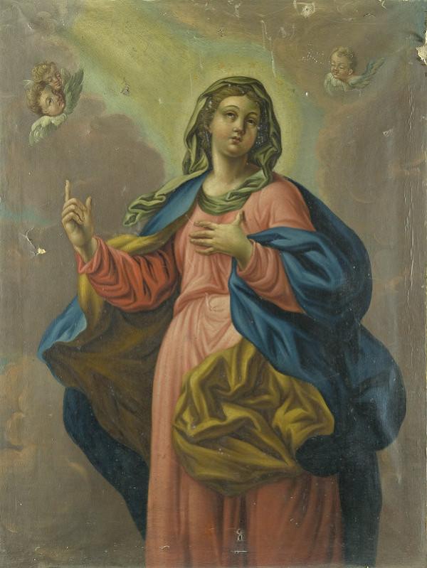 Stredoeurópsky maliar z 2. polovice 19. storočia - Panna Mária