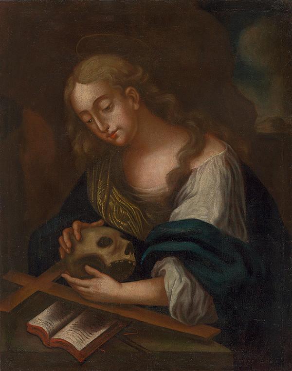 Stredoeurópsky maliar z 1. polovice 18. storočia – Svätá Mária Magdaléna ako kajúcnica