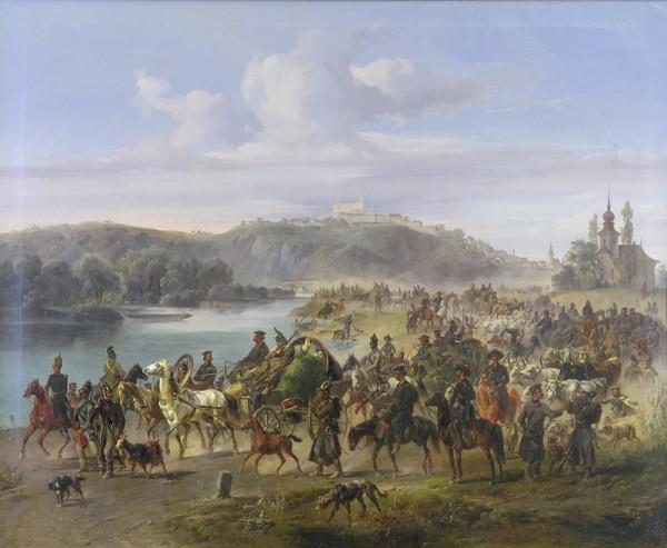Jozef Heicke - Ruské vojsko pri Bratislave v roku 1849