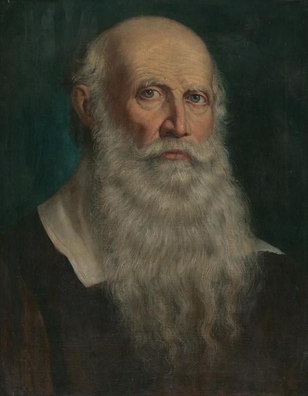 František Kozics – Portrét starca