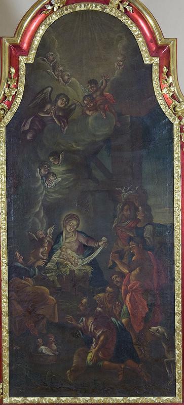 Stredoeurópsky maliar z 1. polovice 18. storočia, Antonio Balestra - Narodenie Krista