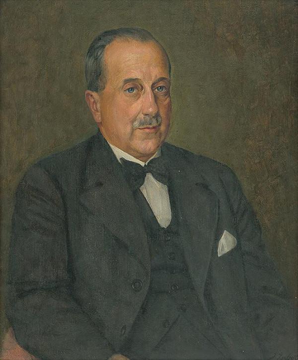 Ivan Žabota – Portrét Dr. Ľ. Medveckého