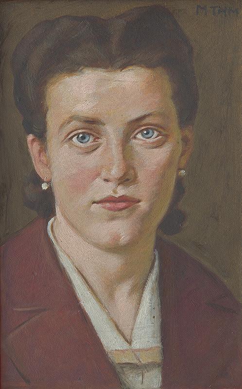 Milan Thomka Mitrovský - Portrét mladej ženy