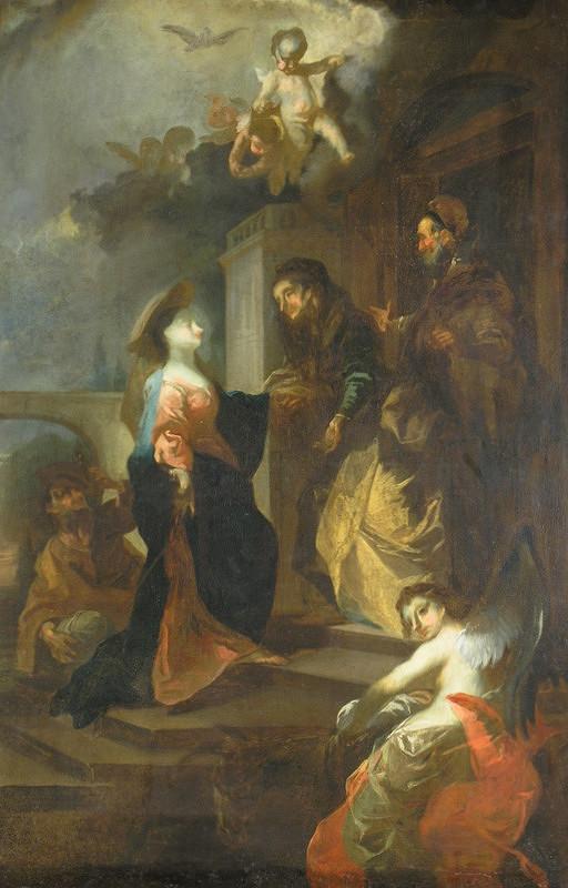 Franz Anton Maulbertsch - Navštívenie Panny Márie