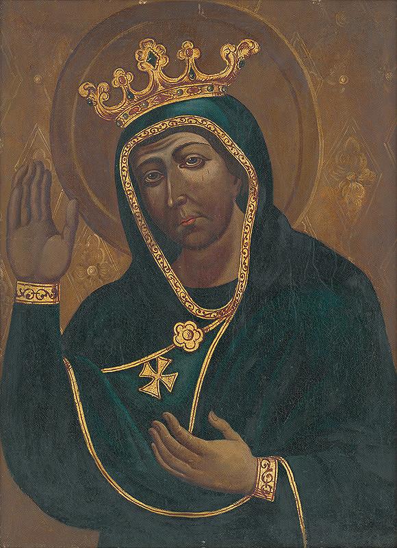 Slovenský maliar z konca 18. storočia – Kópia obrazu Panny Márie Trnavskej (?)