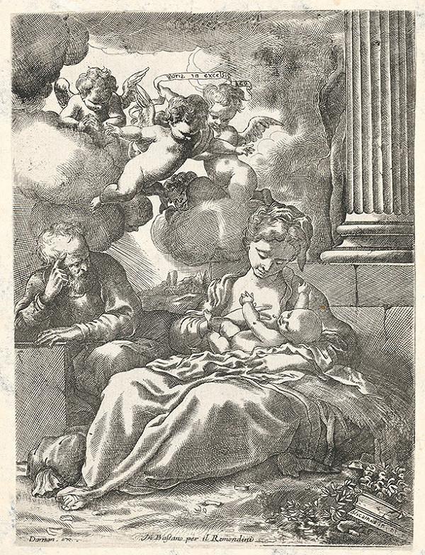 Giovanni Antonio Remondini, Bartolomeo Biscaino - Narodenie Krista