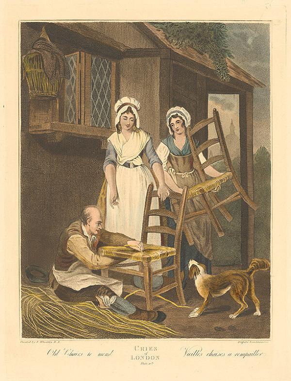 Francis Wheatley – Vypletanie starých stoličiek