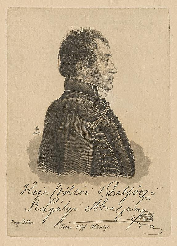 Ferdinand Karl Theodor Lütgendorff – Portrét Abraháma Rágalyiho