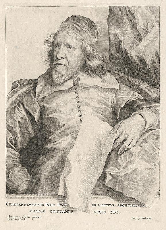 Anthony van Dyck, Robert van Voerst, Martinus van den Enden - Inigo Iones