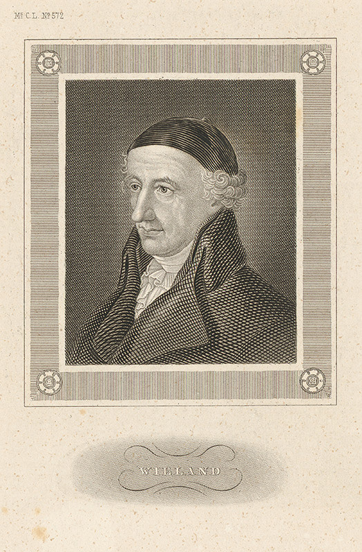 Stredoeurópsky maliar z 19. storočia – Portrét Wielanda