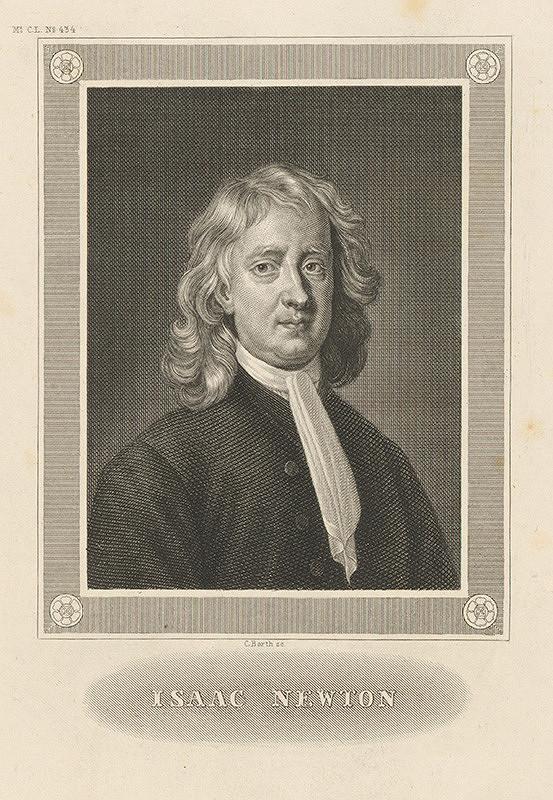 Carl Barth – Portrét Issaca Newtona