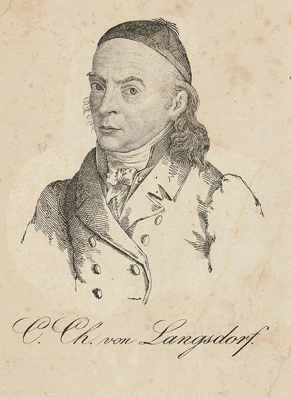 Stredoeurópsky maliar z 19. storočia – C.Ch. von Langsdorf