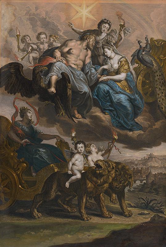 Peter Paul Rubens, Jean Baptiste Nattier, Gaspar Duchange – Stretnutie Márie de Medici a Henricha IV. v Lyone