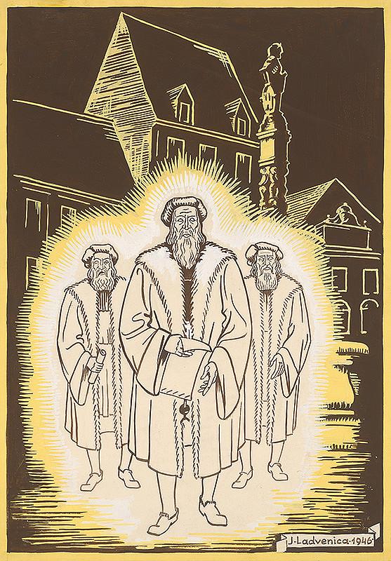 Ján Ladvenica – Traja starci