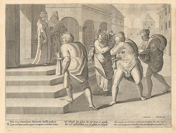 Philip Galle, Carol de Mallery - Alegória súdnictva IV.