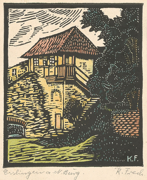 Karol Frech – Hrad v Esslingene