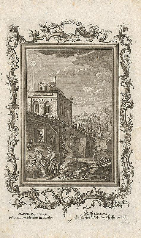 Johann Conrad Müller - Narodenie Krista