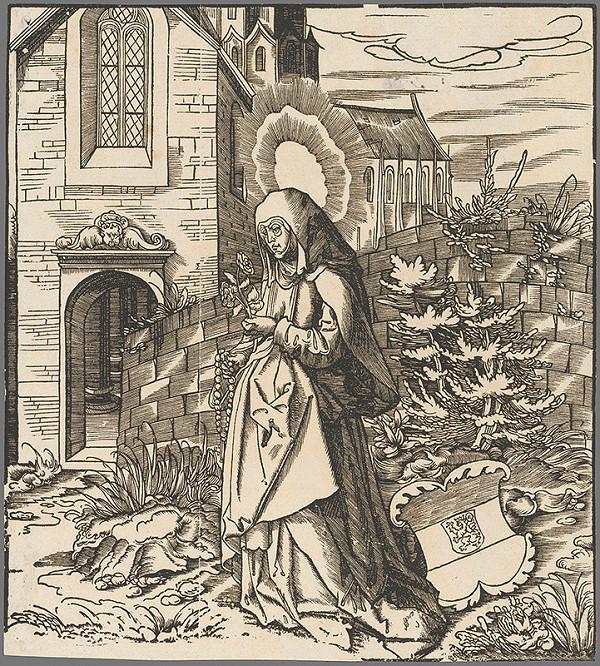 Leonhard Beck  - Svätá Severa